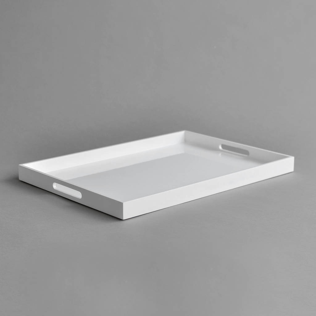 Lacquer Serving Tray By Nom Living Notonthehighstreet Com
