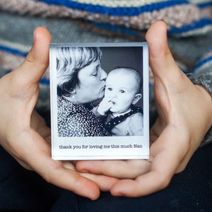 Mini Personalised Photo Acrylic Block - picture frames