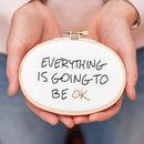 Everything Is Going To Be Ok Mini Motivator Craft Kit