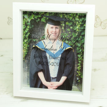 Personalised Graduation Photo Box Frame