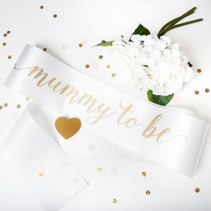 Baby Shower Sash Mummy To Be - children's parties