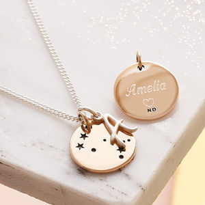 It's In The Stars Personalised Necklace - 21st birthday