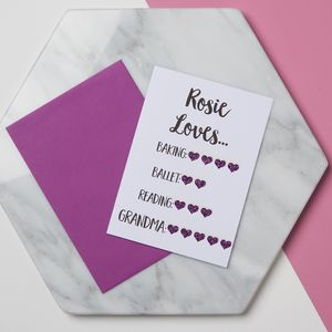 Grandma 'I Love You More Than' Card - new in mother's day