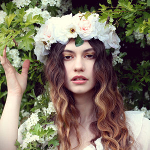 Spring Blossom Flower Headpiece