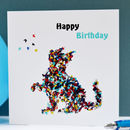 Cat Birthday Card, Happy Birthday From Your Cat Card
