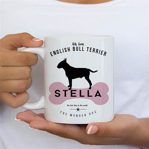 English Bull Terrier Dog Owners Mug And Tableware