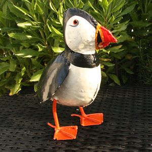Puffin Garden Sculpture Decoration - what's new