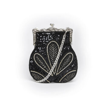 Vintage Inspired Art Deco Embellished Purse