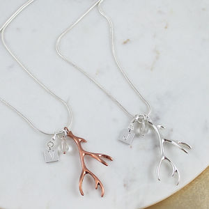 Antler Pendant Necklace - what's new