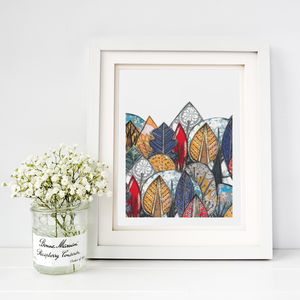 Forest Of Colour Fine Art Print - posters & prints