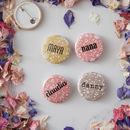Ditsy Floral Personalised Name Badge