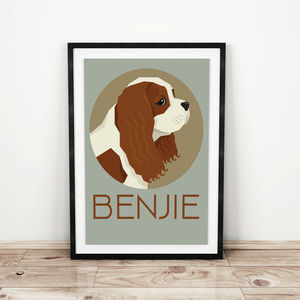 Personalised Dog Prints Various Breeds