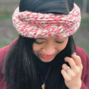 Knit Your Own Chunky Cable Headband In Twisted Wool Kit