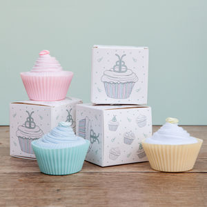 Cupcake Socks - new baby gifts