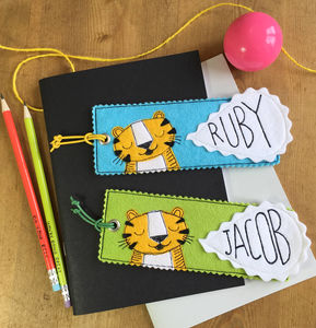 Happy Tiger Bookmark - whats new