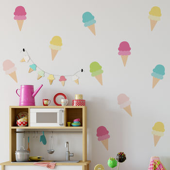 Ice Cream Wall Stickers