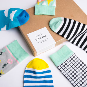Build Your Own Sock Box Gift For Women