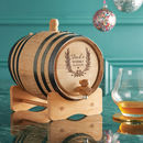 Personalised Whisky Barrel