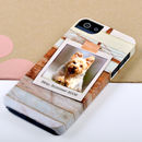 Personalised Wood Design Photo Phone fr iPhone 5/5S