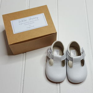 Traditional Handmade Leather Pram Shoes