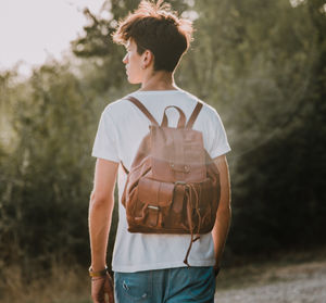 Personalised Leather Nomad Backpack/Rucksack