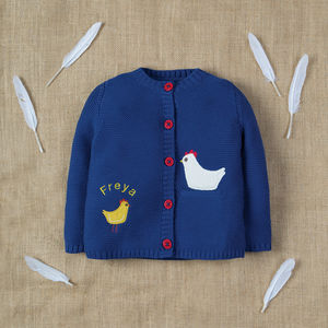 Personalised Knitted Organic Cuddly Cardigan - view all new