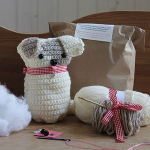 Crochet Puppy Kit