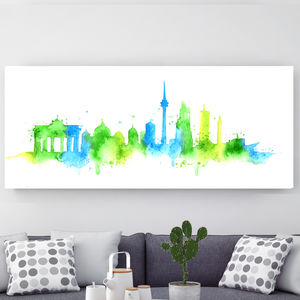 Berlin City, Canvas Art