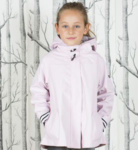 Girl's Pink Raincoat - children's coats & jackets