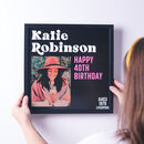 Personalised Record Sleeve Framed Music Print