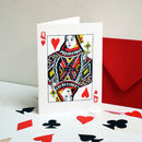 Queen Of Hearts Valentine's / Anniversary Card