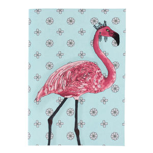 Flamingo A5 Notebook - writing