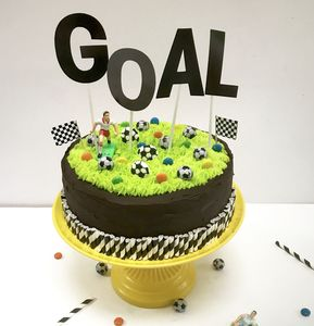Football Birthday Cake Kit
