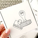 Rubber Stamp Monthly Subscription Box