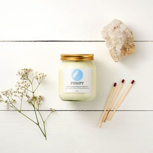 Purify Soy Aromatherapy Candle - candles