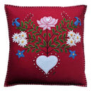 Alpine Rose Cushion