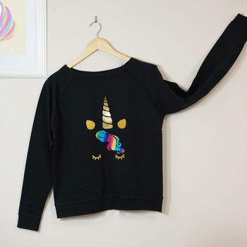 Sparkly Unicorn Sweatshirt