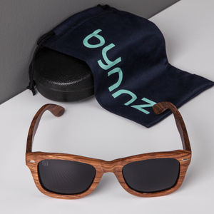 'Balham' Wooden Sunglasses - sunglasses