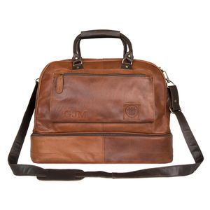 Personalised Leather Raleigh Holdall