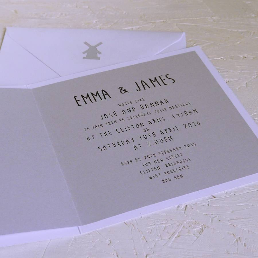 Bespoke wedding venue map invitation by betsy els bespoke wedding venue map invitation stopboris Image collections