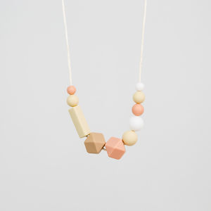 Nude Teething Necklace