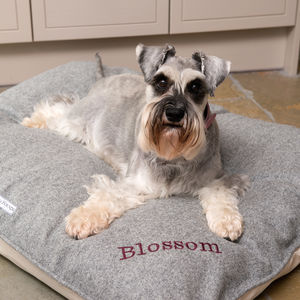 Personalised Pillow Dog Beds - dogs