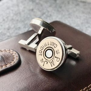 Personalised Shotgun Cufflinks - cufflinks