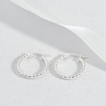 Sterling Silver Everyday Small Hoop Earrings