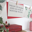 Advent Calendar: Festive Activity Garland