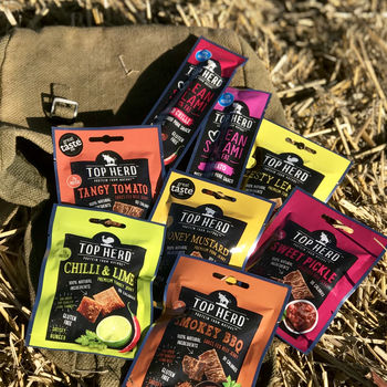 Natural Jerky And Salami Snack Bag For Nature Lovers