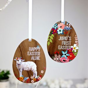 Personalised Easter Decoration - easter decorations
