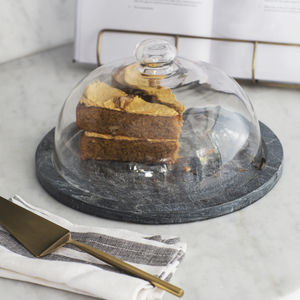 Brompton Slate Cake Dome - gifts for bakers