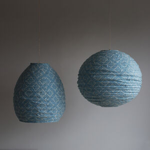 Turquoise Hanging Lightshade
