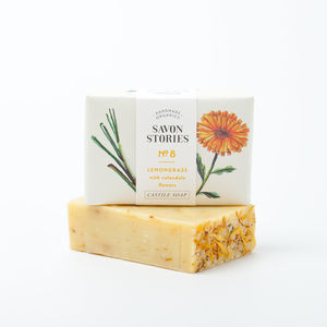 Organic Marigold Bar Soap - bath & body